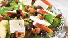 Hedelmäinen viikuna-juustosalaatti - K-ruoka