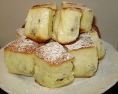 """from """"Traditional Czech Cuisine"""" in 1880 called """"softer buns ... Ah - BUCHTY!!"""