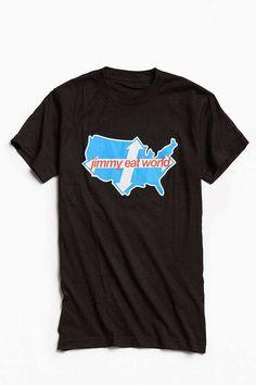 Slide View: 1: Jimmy Eat World Across America Tee
