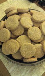 To Save A Dollar: Recipe: Biscochos, Mexican wedding cookies