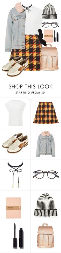 """""""Untitled #1054"""" by rowan-asha ❤ liked on Polyvore featuring Christina Economou, Marni, Topshop, Alexander Wang, Moscot, Free People, Chanel and Charlotte Russe"""
