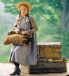 Anne of Green Gables    I cannot tell you how many times I watched these movies over and over.