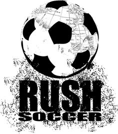 Rush Soccer Logo.  I love Rush its been a huge help to get to were i am right now.