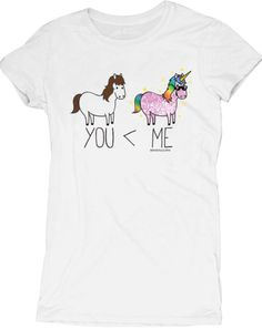You vs Me Unicorn Tee