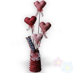 Ancheta Corazones de Amor - chocolates - Amor y Amistad