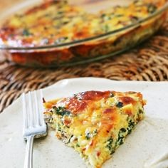 Crustless Kale Quiche by Ingredientsinc