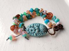 Tuileries  handmade bracelet handmade beaded bracelet by songbead, £34.00