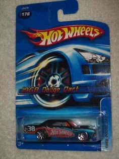#2006-176 1968 Dodge Dart 10-Spoke Wheels Collectible Collector Car Mattel Hot Wheels 1:64 Scale by Mattel. $3.90. Perfect Hot Wheels Diecast for every collector!. Diecast Metal Hot Wheels Car Perfect For That Hot Wheels Collector!. Fun For All Ages! Serious Collectors And Kids Alike!. Great Investment For Any Hot Wheels Collector.. A Perfect Addition To Any Hot Wheels Collection!. #2006-176 1968 Dodge Dart 10-Spoke Wheels Collectible Collector Car Mattel Hot Wheels