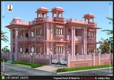 Indian Architecture, Interior Architecture, Architectural Engineering, Building Elevation, Pooja Rooms, Jodhpur, Ground Floor, Temples, Home Projects