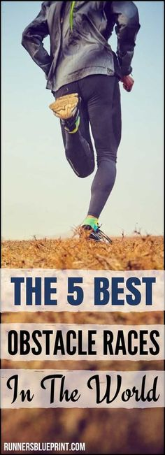 today I decided to share with you a short list of my 5 favorite obstacle races out there, along with some of the obstacles and challenges that you will encounter on the race course. http://www.runnersblueprint.com/best-obstacle-races-the-world/ #Obstacle #Course #Race