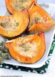 Parmesan Roasted Squash