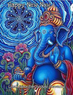 Zen Painting, Ganesha Painting, Psychadelic Art, Spirited Art, Look Boho, Art Corner, Elephant Art, Yoga Art, Visionary Art