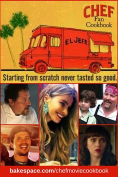 Welcome to the El Jefe Food Truck kitchen! Here you'll find a few of our favor. Cuban Recipes, Chef Recipes, Baby Food Recipes, Food Baby, Cooking Recipes, Movie Chef, Make Your Own Cookbook, Roy Choi, Chef Shows