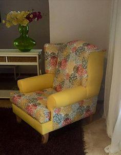 Se vende tapizado lateral acento sillón silla por CushionsnCo