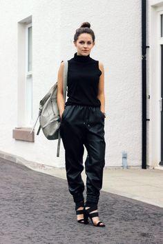 Leather #allblack