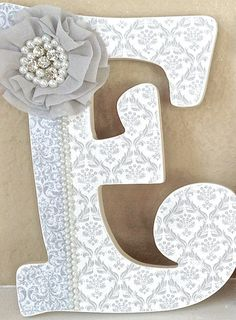 Custom Wooden Nursery Letters