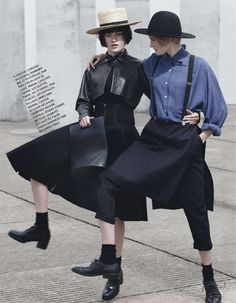 visual optimism; fashion editorials, shows, campaigns & more!: amies amish: molly smith and sanne vloet by takay for elle france 6th decembe...