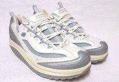Skechers Shape-ups 11803 Gray/blue Walking Shoe Sneakers  US 11  EUR 41  | eBay