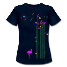 Endlich Frühling! Endlich Sommer! Endlich verliebt! Tolles Motiv für die warme Zeit des Jahres, die Zeit für das Kribbeln im Bauch. Florale Ornamente für sexy T-Shirts und süße Kindershirts.
