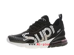 wholesale dealer 7806a a1791 Off White x Nike Air Max 270 Flyknit Officiel Chaussures de course Prix Pas  Cher Homme