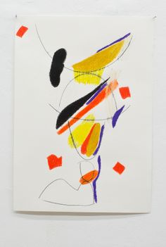 Martin Lukac - feet, 2014 pastel on paper