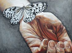 "Saatchi Art Artist Leigh Banks; Painting, ""Letting Go"" #art"