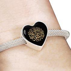 Chahada - La Illaha Ila Allah Wa Muhammad Rassoulou Allah - Bracelet Islamic Gifts, Muhammad, Muslim, Allah, Gifts For Women, Heart Ring, Cufflinks, Women Jewelry, Bracelets