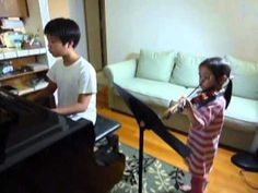 Suzuki Violin 3 Minuet by Bach--Violin/Piano Duet [by Petzold, Suzuki Violin School Volume 1]—See more of this young violinist #from_chien0216