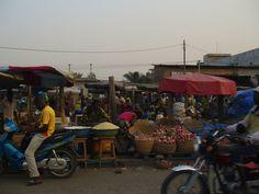 Benin, Africa 2011, december, market
