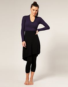 I want to wear a wrap sweater over my dress. Maybe one that's a little less pilate-ish.
