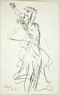 John Singer Sargent ~ The Dance (after Jean Baptiste Carpeaux), 1907 (ink on paper) Amazing gesture drawing Gesture Drawing, Life Drawing, Figure Drawing, Drawing Sketches, Painting & Drawing, Art Drawings, Contour Drawings, Drawing Tips, Drawing Faces