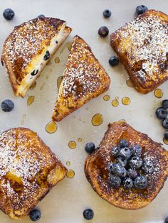 spicy icecream: Blueberry Cheesecake Stuffed French Toast