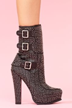 Studded bootie glory