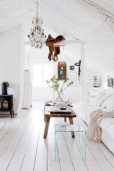 Chic beach house