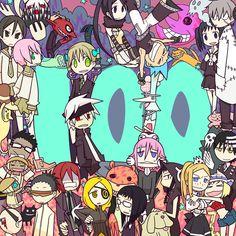 Tags: Anime, SOUL EATER, Stitched, Shinigami, SQUARE ENIX, Crona, Maka Albarn