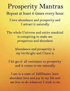 Prosperity Mantra's