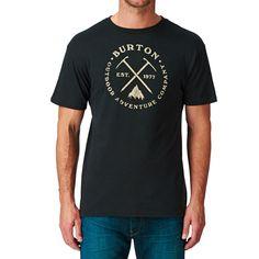 e274730f Men's Burton T-shirts - Burton Pick Axe T-shirt - True Black. Diane · Trendy  Shirt Designs