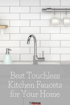 Best Touchless Kitchen Faucets for Your Home Touchless Kitchen Faucet, Kitchen Faucet With Sprayer, Kitchen Faucets Pull Down, Kitchen Faucet Reviews, Best Kitchen Faucets, Kitchen Fixtures, Bathroom Faucets, Dream Bathrooms, White Bathrooms