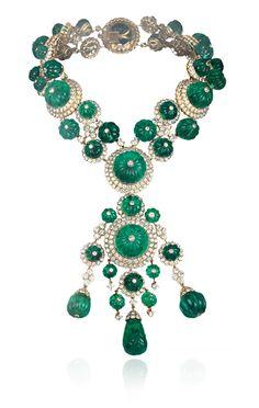 Commande spéciale du collier Indien pour S.A. le Prince Aga Khan, 1971, Collection Privée  - Van Cleef & Arpels