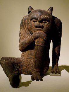 Chinese bronze at the Museum für Asiatische Kunst in Dahlem