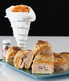Baked Turkey & Swiss Sliders w/ Chipotle Mayo