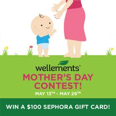 Help me WIN Wellements Mother's Day Contest.
