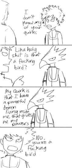 ... HEY HES A GREAT BIRD