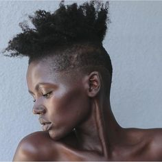 Instagram Natural Hair Cuts, Natural Hair Styles, Tapered Twa, Braid Out, Dope Hairstyles, Coily Hair, Glowy Skin, Natural Hair Inspiration, Curly Girl