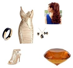 """""""Rose Gold"""" by dixietough on Polyvore featuring Vince Camuto and Marni"""
