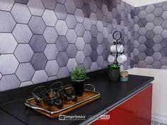 A Imprimax forneceu espaço e materiais para que arquitetos e designers de interiores esbanjassem toda a sua criatividade, mostrando as possibilidades da utilização de vinis autoadesivos na decoração de ambientes. Veja agora o projeto exclusivo criado pela equipe da STRARQ ARQUITETURA, CARLA E CAMILA STRAVALLE, de São Paulo/SP.  Instagram: @strarq Peças de decoração: @lardeco Info: www.imprimax.com.br Camila, Tile Floor, Designers, Flooring, Texture, Crafts, Instagram, Vinyls, Architects