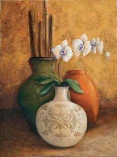 Cuadro Modern Orchid I