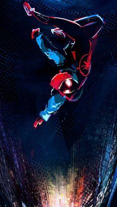Drawing Superhero Miles Morales - Ultimate Spider-Man, Into the Spider-Verse Films Marvel, Marvel Art, Marvel Memes, Marvel Avengers, Marvel Comics, Spiderman Kunst, Spiderman Spider, Spider Gwen, Black Spider