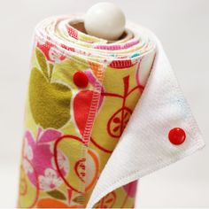 Reusable paper towel...Hmm possibly? It would save money but it would take some getting used too.