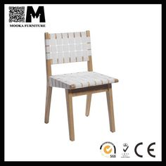 Source replica Risom Side Chair white wood chair dining on m.alibaba.com